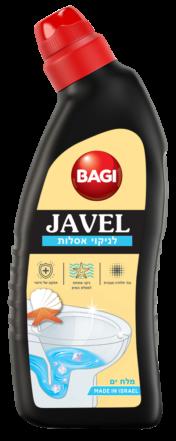 ז'אוול לניקוי אסלות - מלח ים באגי מוצרי ניקיון