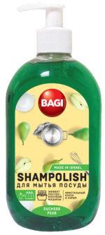 Шамполиш – средство для мытья посуды. 36% ПАВ. 500 мл.